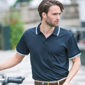 Henbury Short Sleeve Coolplus Polo Shirt