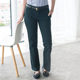 Henbury Womens Teflon Coated Flat Front Trouser