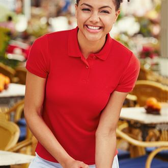 Fruit of the Loom Lady-Fit 65-35 Polo Shirt